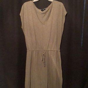 Olive maxi dress GAP sz M